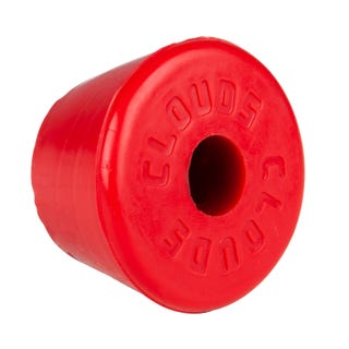 Clouds Rubber Toestop - Red
