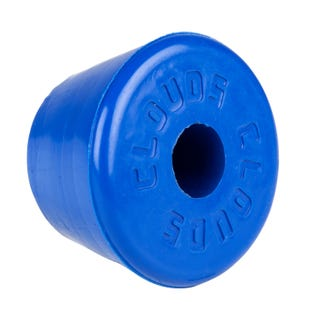 Clouds Rubber Toestop - Blue