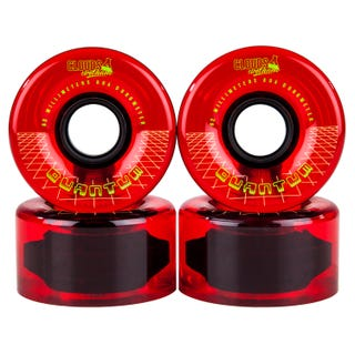 Clouds Urethane Wheels - Quantum 80a (4 Pack) - Red