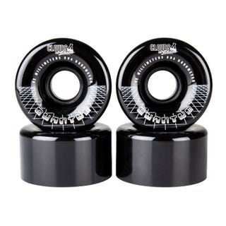 Clouds Urethane Wheels - Quantum 80a (4 Pack) - Black