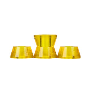 Clouds Bushings - Cosmic 85a Conical (4 Pack) - Yellow