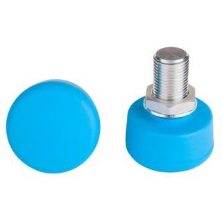 Adjustable Toestop (2 Pack) - Blue